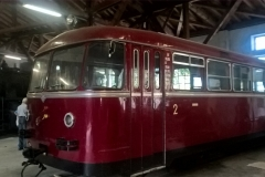 Schienenbus / Dieseltriebwagen VT 10.05, Graz-Köflacher Bahn, Baujahr: 1955