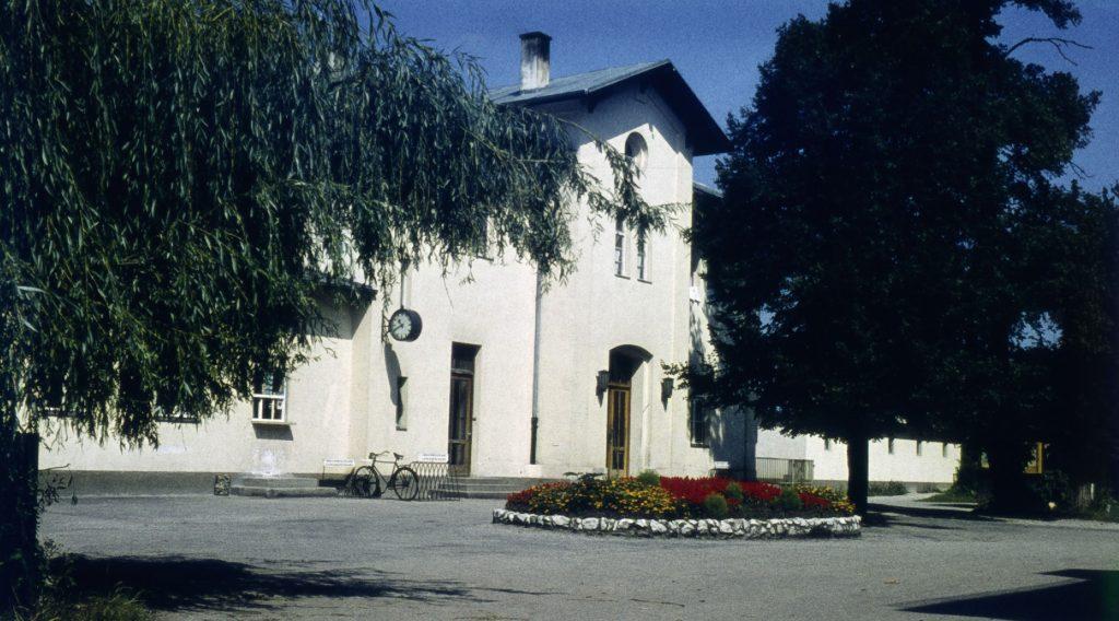 Alter Bahnhof Schleißheim 1959